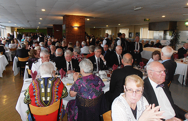 Shipmates gather for the Gala Dinner