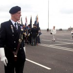 Dave rounds up No 6 Area Standard Bearers