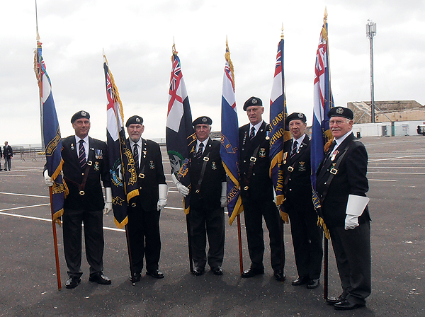 No 6 Area Standard Bearers