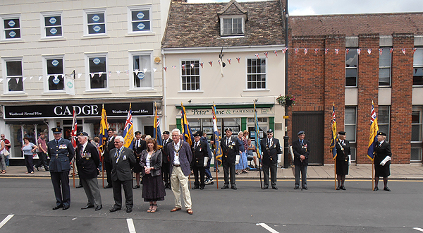 The Mayor, Councillors and Armed Forces representatives