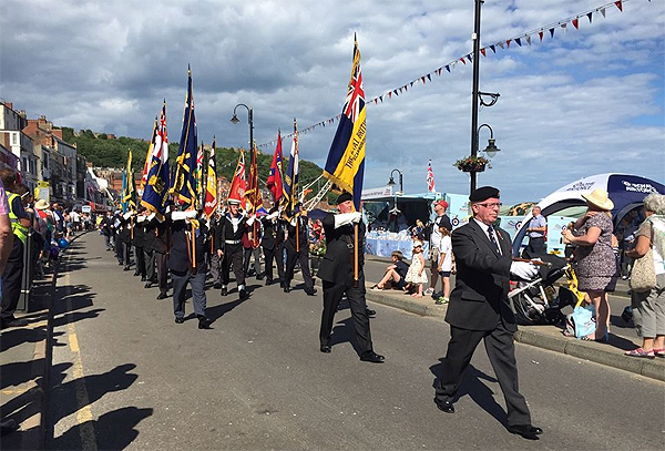 Parading Veterans Associations' Standards