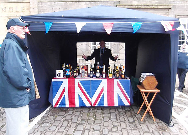 The Skipton & District stall