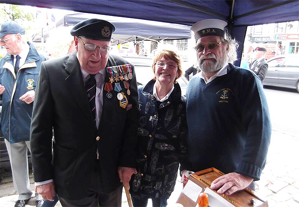 Shipton shipmates at Armed Forces Day