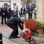 Followed by the Chair of HDC's wreath