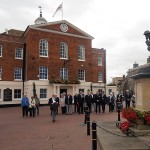 The Merchant Navy Association are invited to lay their wreath