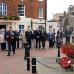 The Royal Naval Association wreath will be laid down by s/m Pete Aston