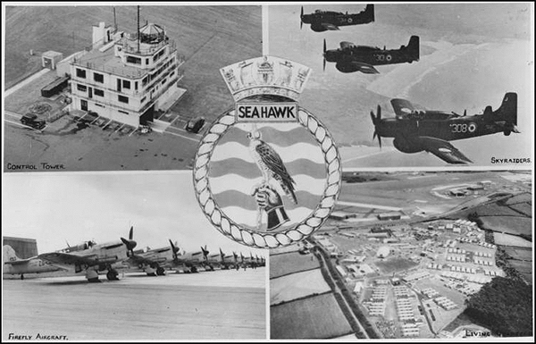 HMS Seahawk (C) HelstonHistory.co.uk