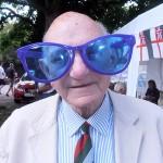 Shipmate Graham Holt models the new aviator glasses