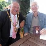 The Mayor and Jack Millard
