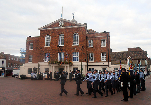 March on the Air Cadets