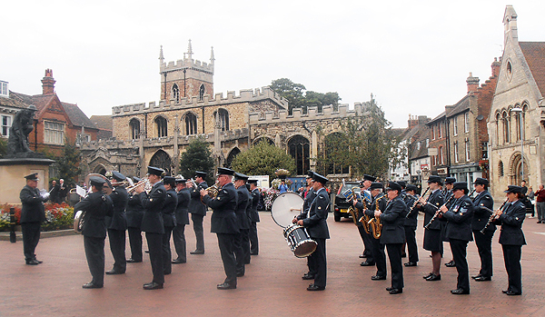 RAF Wyton's Voluntary Band