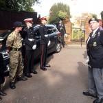 Shipmates and Cadets muster at St Mary's Church