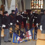 End stages of the Service