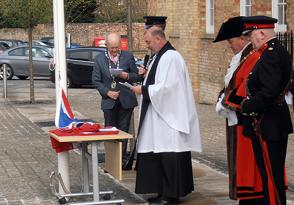 Blessing the Union Flag