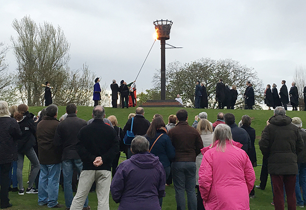 Lighting the Beacon