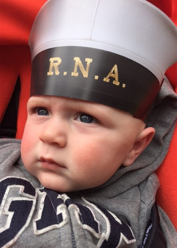 The RNA's latest recruit