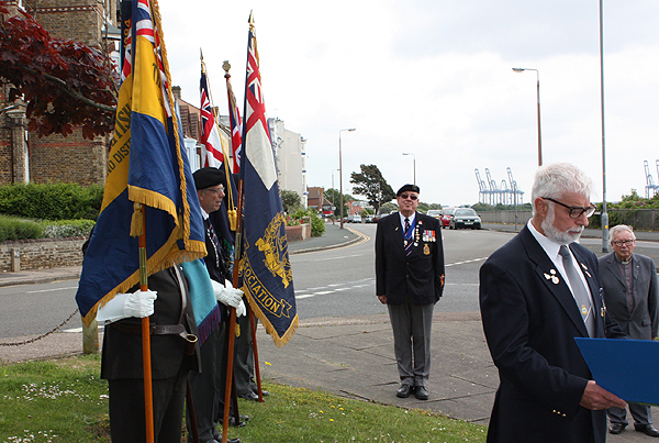 Ex-forces personnel muster for the service
