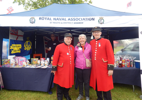 A visit from the Chelsea Pensioners