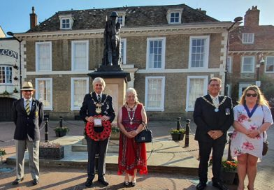 Wreath-laying for Armed Forces Day 2020